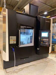 DMG Mori vertical mate 85 pystyhiomakoneella saadaan CNC hiota onnistumaan millin tarkasti.